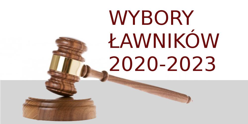 Baner: Wybory ławników 2020-2023