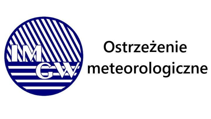 Ilustracja do informacji: OSTRZEŻENIE METEOROLOGICZNE NA DZIEŃ 19.08.2019 R.: