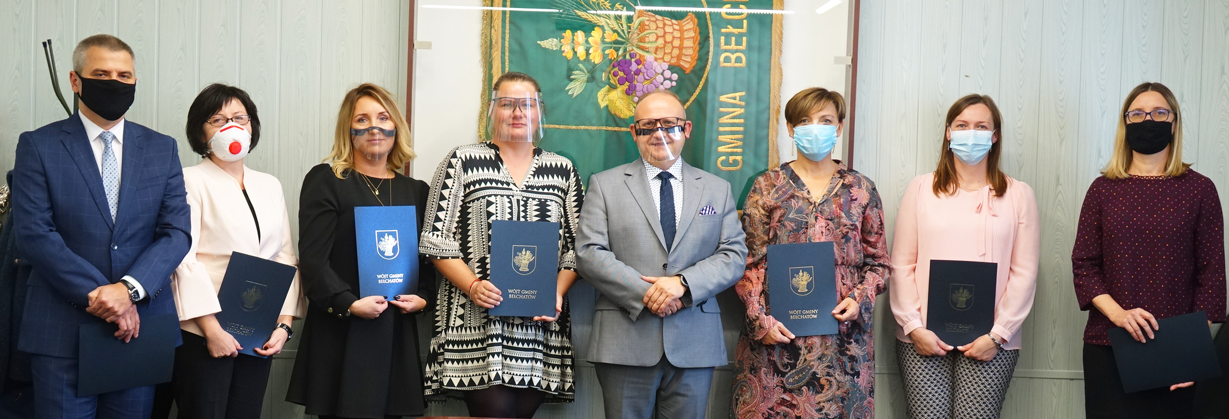 Ilustracja do informacji: Nagrody Wójta Gminy Bełchatów dla nauczycieli: