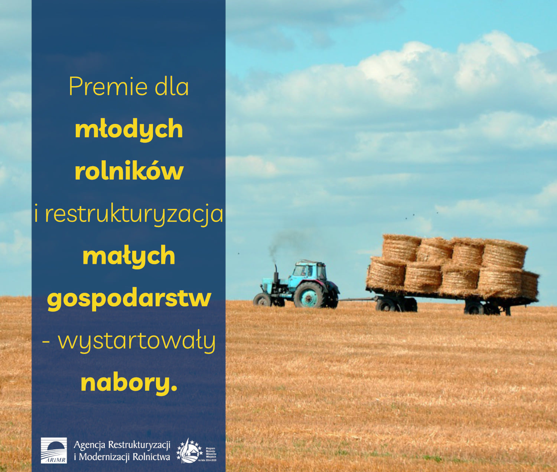 Ilustracja do informacji: Premie dla młodych rolników i restrukturyzacja małych gospodarstw: