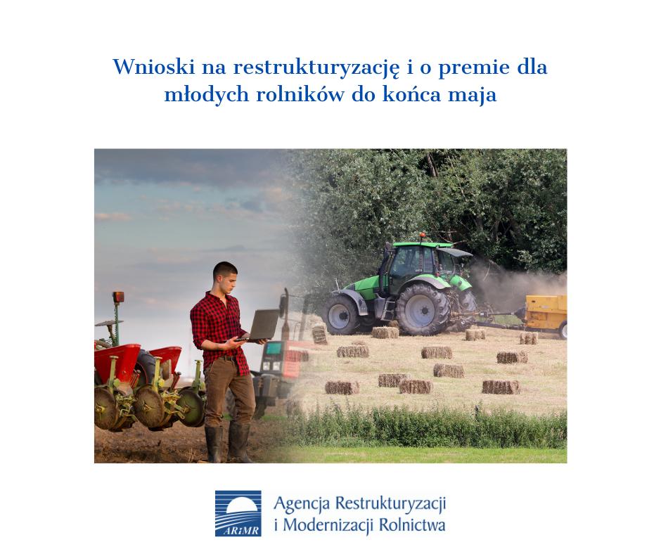 Ilustracja do informacji: 150 tys. zł premii dla młodych rolników – ARiMR przyjmuje wnioski: