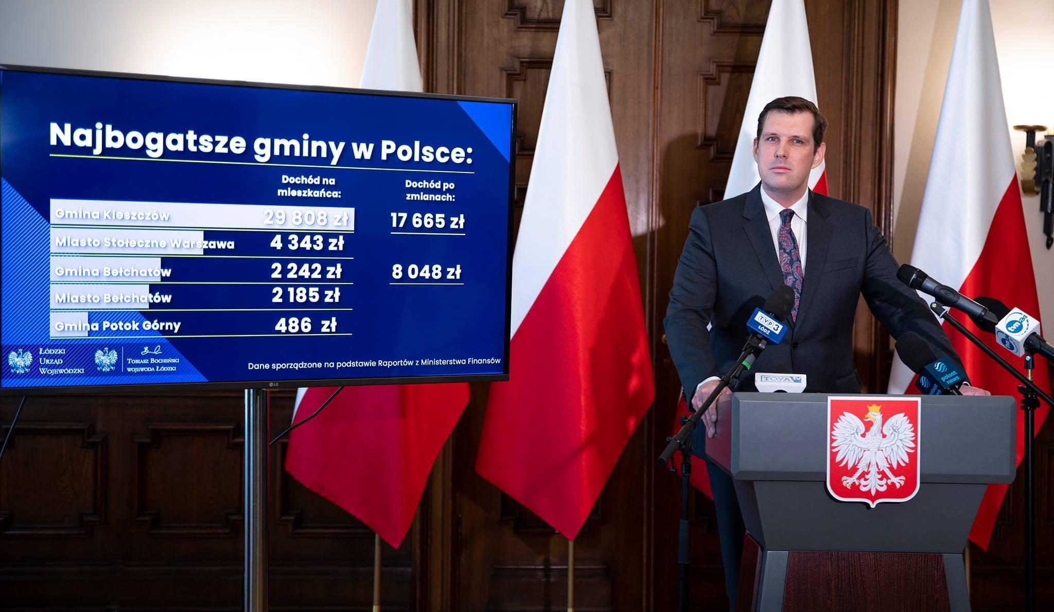 Ilustracja do informacji: Wojewoda wnioskuje o zmianę granic gminy Kleszczów. 23 września ruszą konsultacje